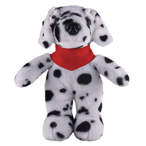 Soft Plush Stuffed Dalmatian with Bandana
