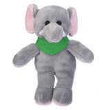 Soft Plush Stuffed Elephant with Bandana