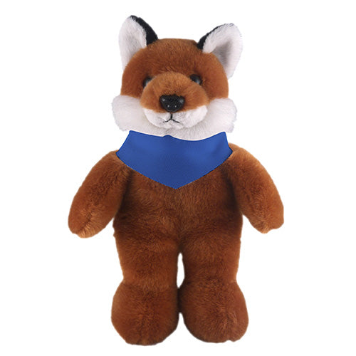 Soft Plush Stuffed Fox with Bandana