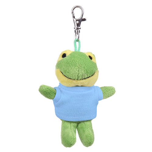 Soft Plush Frog Keychain with Tee