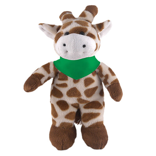 Soft Plush Stuffed Giraffe with Bandana