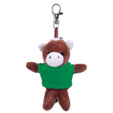 Soft Plush Horse Keychain with Tee