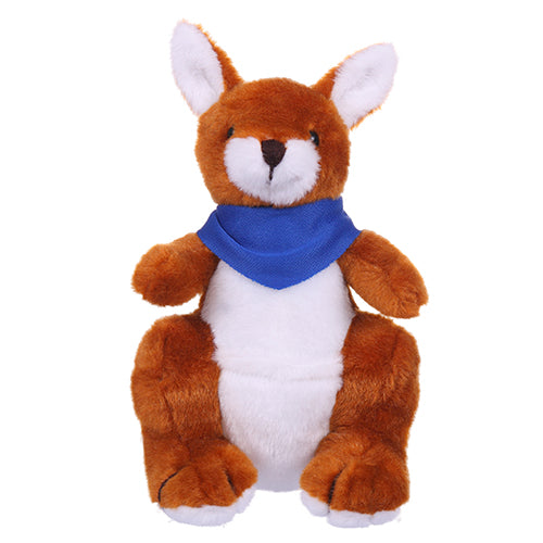 Soft Plush Kangaroo with Bandana