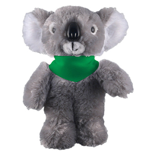 Soft Plush Stuffed Koala with Bandana