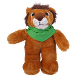 Soft Plush Stuffed Lion with Bandana