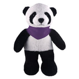 Soft Plush Stuffed Panda with Bandana