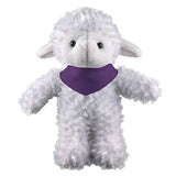 Soft Plush Stuffed Sheep with Bandana