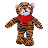Soft Plush Stuffed Tiger with Bandana