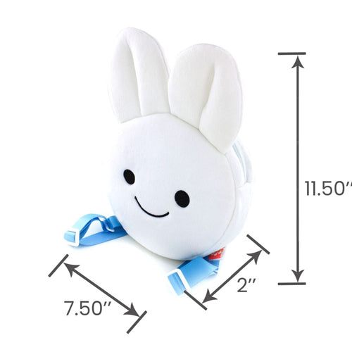 Blue Bunny Face Backpack