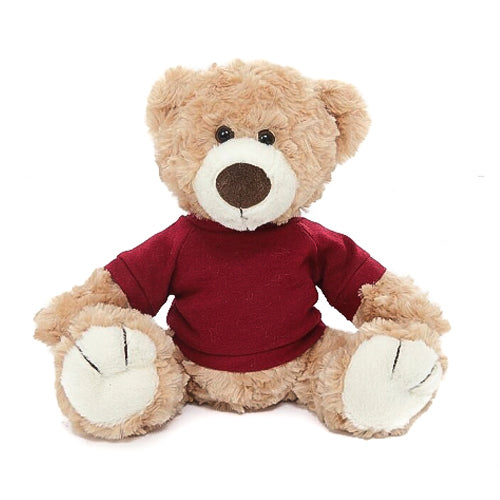 Beige Logan bear with shirt