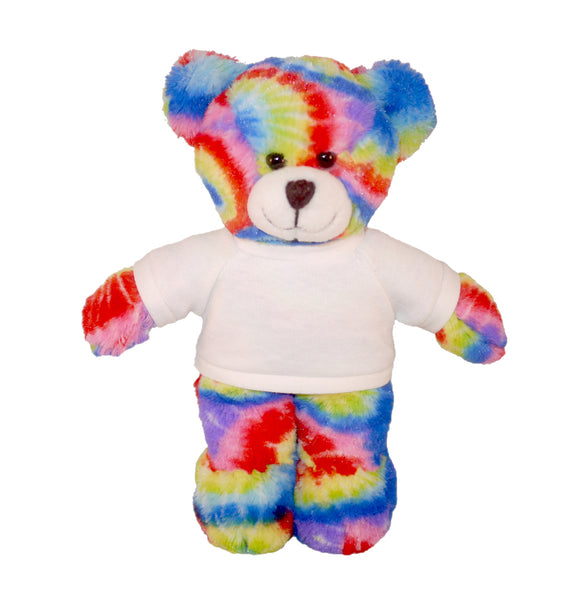 Personalized Tie-dye Bear 8