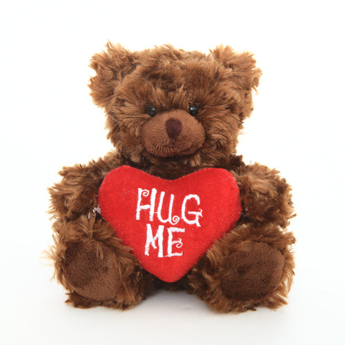 Valentine Sitting Bear Chocolate 6 Inches
