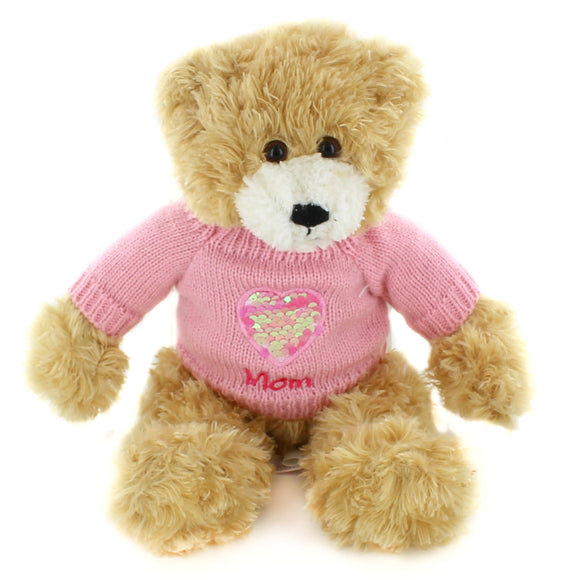 Brandon Beige Mom Sweater Bear 12