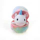 Unicorn in Zip up Tye Dye Egg