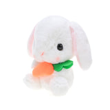 "Rabbit holding carrot 10"" (small)"