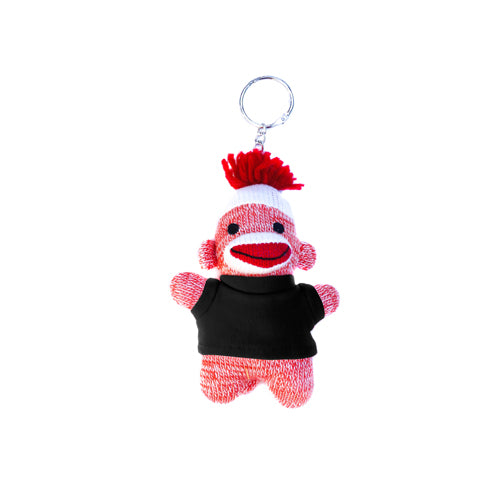 Orange Sock Monkey Keychain 4