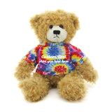 tie dye  Brandon Beige Teddy Bear
