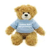 Sky blue Brandon Beige Teddy Bear