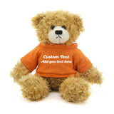 Dark orange Brandon Beige Teddy Bear
