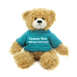light torquoise Brandon Beige Teddy Bear