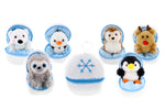 Zippy Zip Up Snowball Animals Set