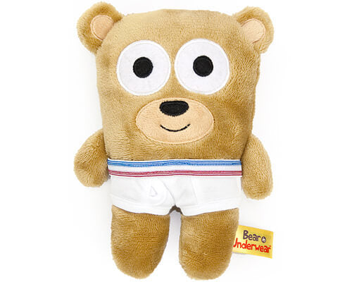 Tighty Whitey Toys Bear in Underwear 12 Inches