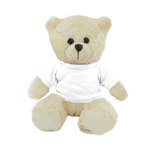 Cream bear with shirt