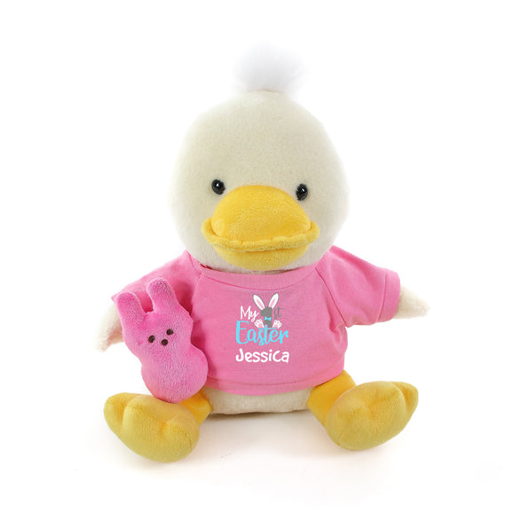 Duck with Pink 1st Easter Shirt 12