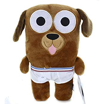 Tighty Whitey Toys Bailey Dog in Underwear 12 Inches