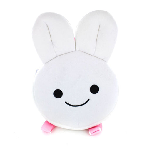 Pink Bunny Face Backpack