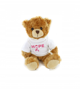 Hope Pink Ribbon Hoodie Bear 6""