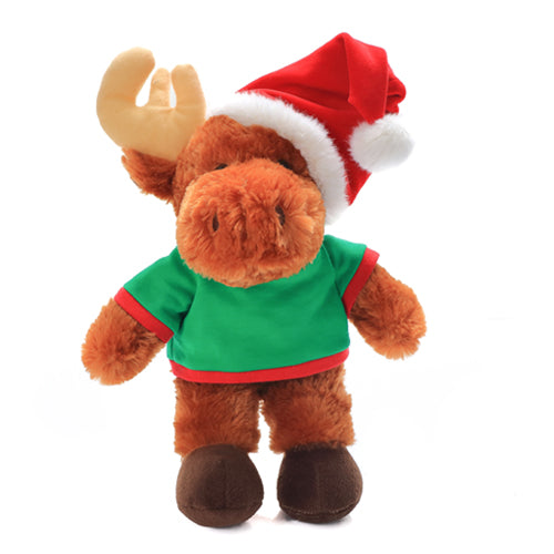 Personalized Plush Moose 12 Christmas Shirt