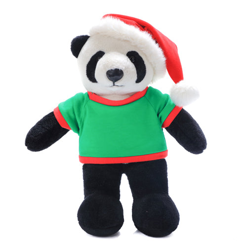 Personalized Plush Panda 12 Christmas Shirt