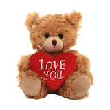 Love You Sitting Bear -- Mocha 6""