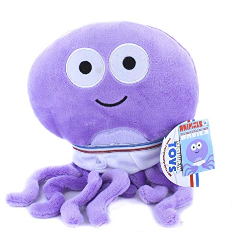 Tighty Whitey Toys Ollie Octopus in Underwear 12 Inches