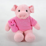 Pig with Pink 1st Easter Shirt 12""