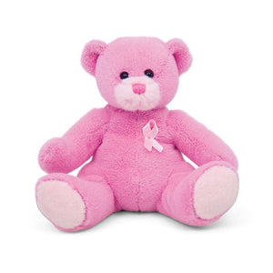 Pink Ribbon Bear 8""