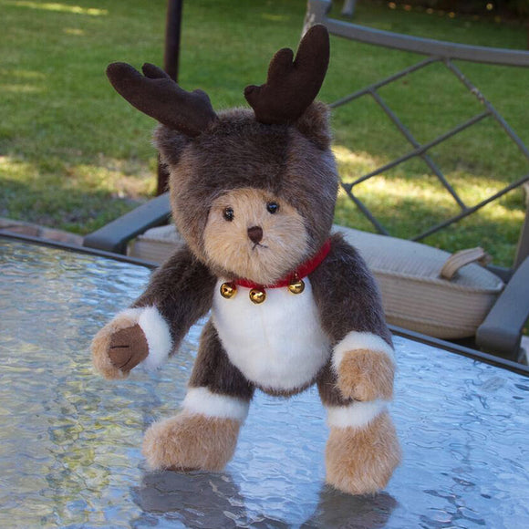 Old Fashioned Bear Reindeer