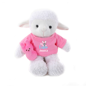 Sheep with Pink 1st Easter Shirt 12""