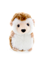 Holiday Zippy Zip Up Snowball Animals-Hedgehog