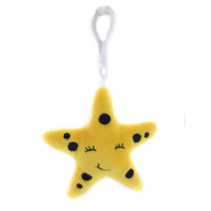 Spotty the Starfish Keychain