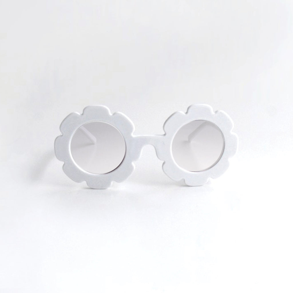 Sunglasses - Crystal white