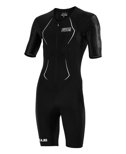 HUUB DS LONG COURSE TRIATHLON SUIT - BLACK