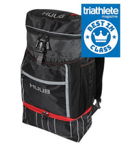 Load image into Gallery viewer, HUUB TRIATHLON TRANSITION RUCKSACK - RED