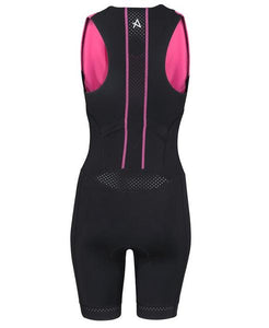 HUUB TANA TRIATHLON SUIT - WOMENS BLACK/PINK