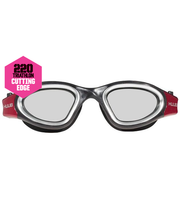 Load image into Gallery viewer, HUUB APHOTIC SWIM GOGGLE - BLACK & RED