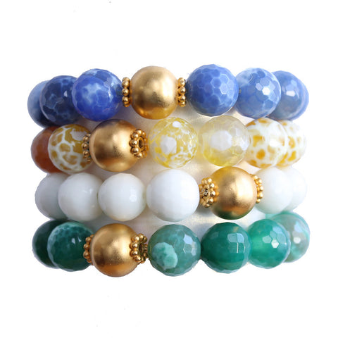 Tessa Gold Bead Collection