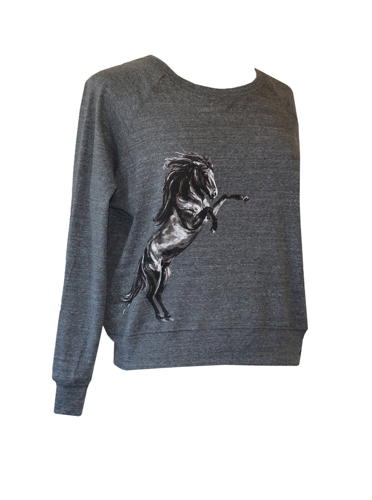 """Dont Fence Me In""  L/S Raglan"