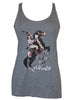 """First Rodeo..."" Flowy Racerback Tank"