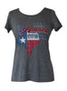 """Texas Cowgirl"" S/S Scoop Neck"